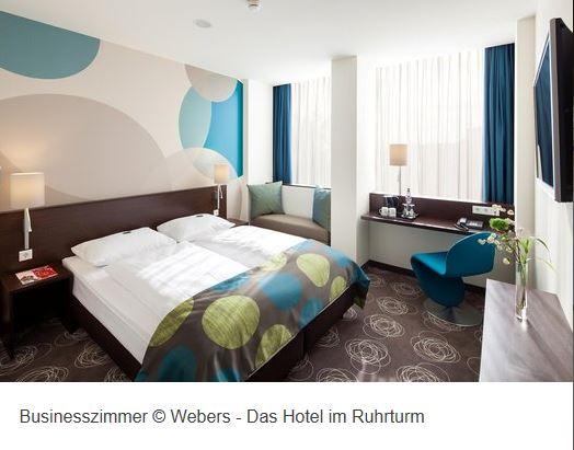 Hotel Webers Ruhrturm Zimmer