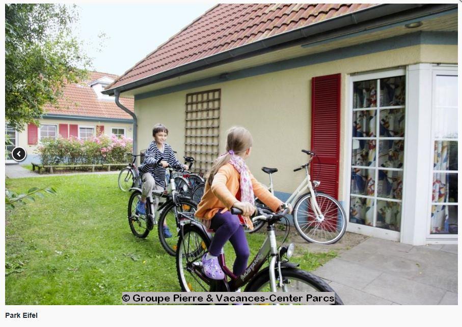 Center Parcs Eifel Wohnung Aussenansicht