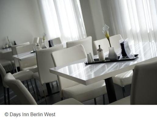 Days Inn Hotel Berlin Frühstück