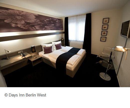 Days Inn Hotel Berlin Zimmer
