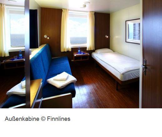 Kreuzfahrt Schiff Finnlines Aussenkabine