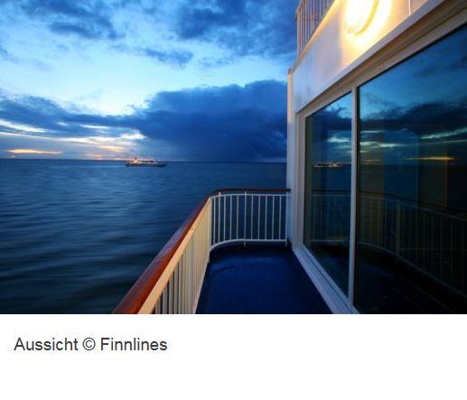 Kreuzfahrt Schiff Finnlines Aussicht
