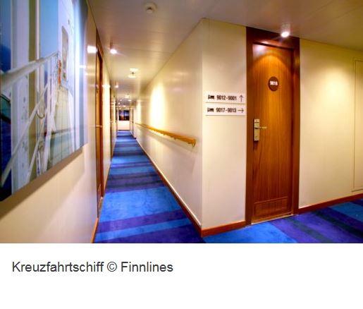Kreuzfahrt Schiff Finnlines Innen