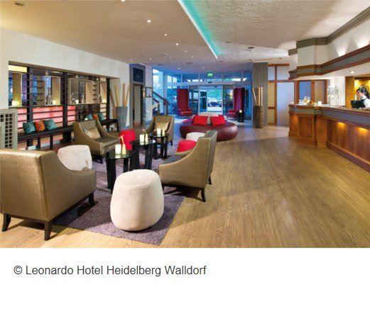 Hotel Leonardo Walldorf Empfang