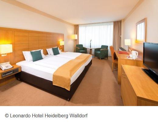 Hotel Leonardo Walldorf Zimmer