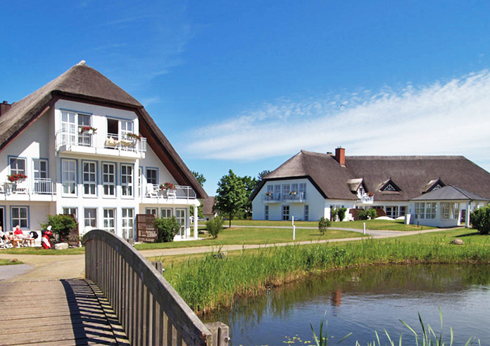 Golf Wellness Hotel Balmer See Aussenansicht