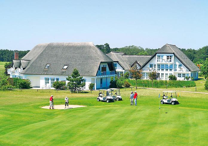 Golf Wellness Hotel Balmer See Glofplatz