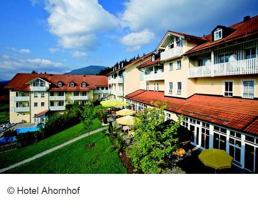 Hotel-Ahornhof Lindberg Aussenansicht