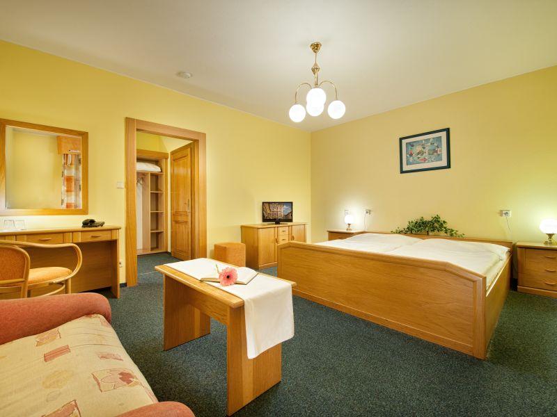 Hotel Henrietta Prag Doppelzimmer