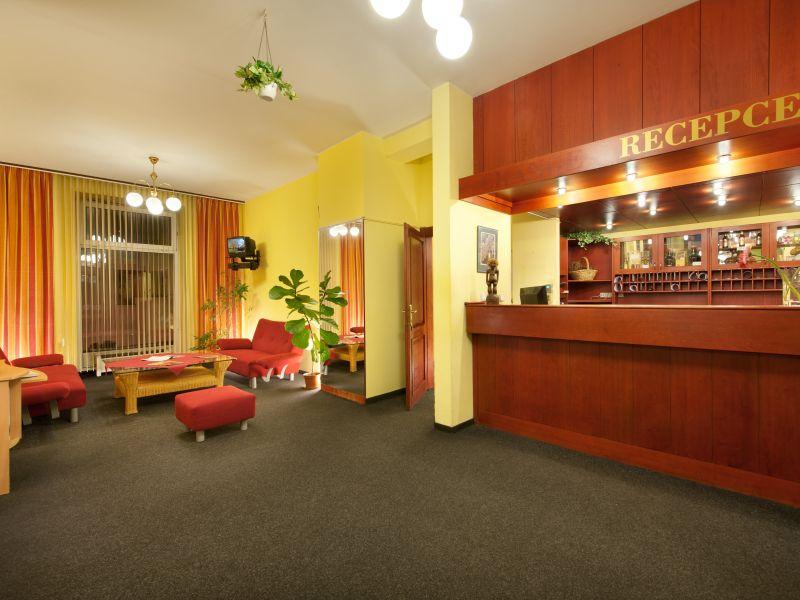Hotel Henrietta Prag Empfang