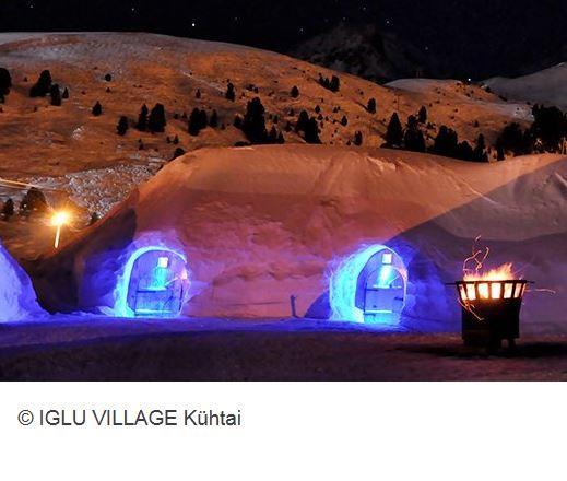 Iglu Village Kuehtai Aussen