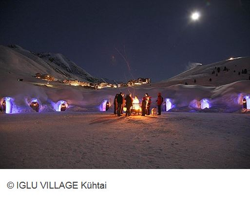 Iglu Village Kuehtai