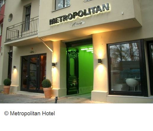 Metropolitan Hotel Berlin Aussenansicht