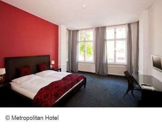 Metropolitan Hotel Berlin Zimmer
