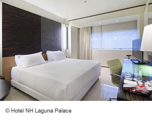 NH Laguna Palace Zimmer