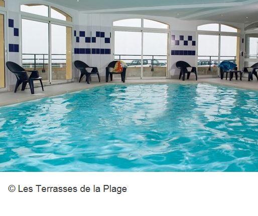 Residence Les Terrasses Plage Hallenbad