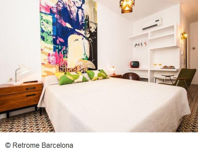 Retrome Barcelona Zimmer