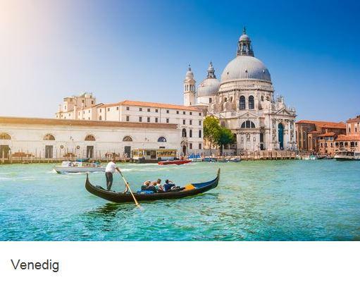 Venedig fahrt mit Gondel