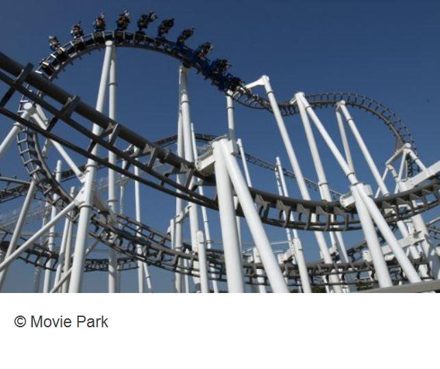 Movie Park Bottrop Achterbahn