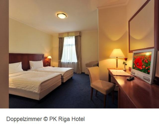 PK Hotel Riga Doppelzimmer