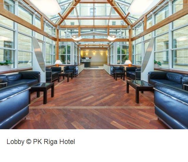 PK Hotel Riga Lobby