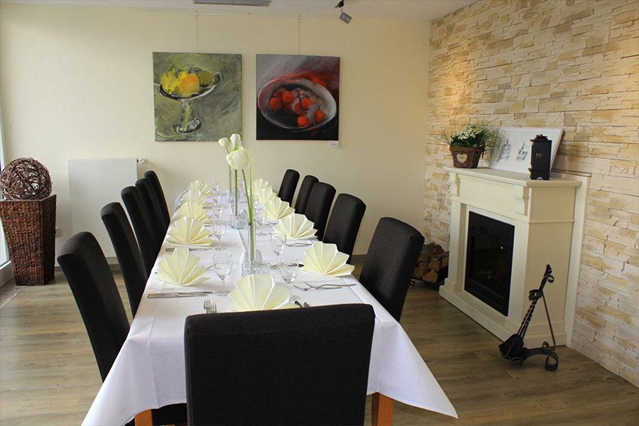 Remagen-Bonn Haus Oberwinter Dinner