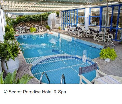 Secret Paradise Halkidiki Hotel Pool Spa
