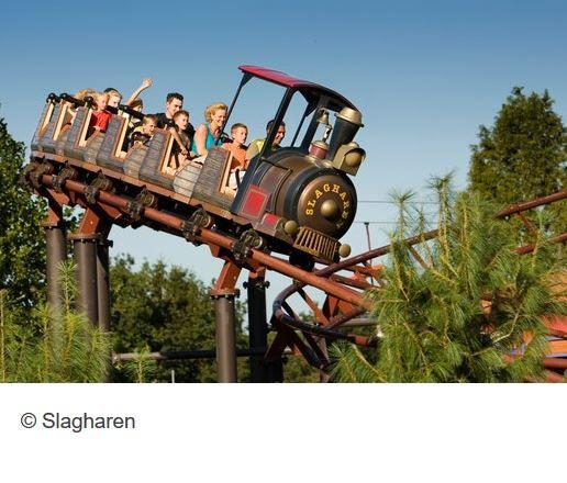 Freizeitpark Slagharen Achterbahn