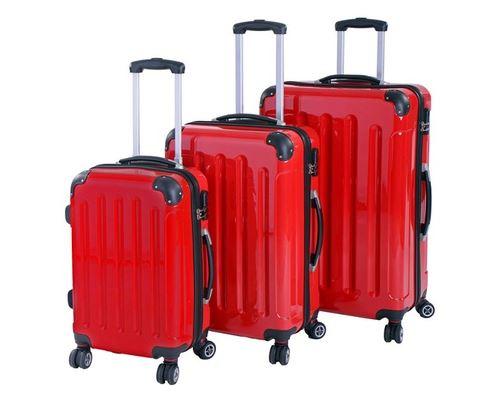 Hartschalen Trolley Rot
