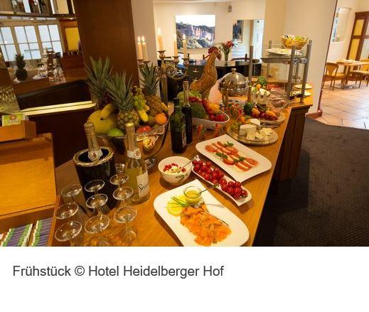 Heidelberger Hof Fruehstueck
