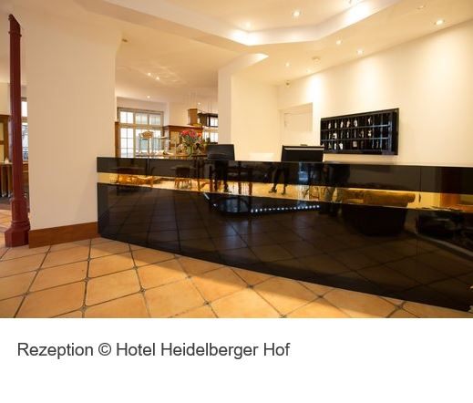 Heidelberger Hof Rezeption