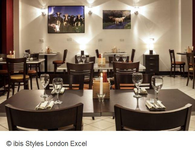 Ibis Styles London Excel Frühstück