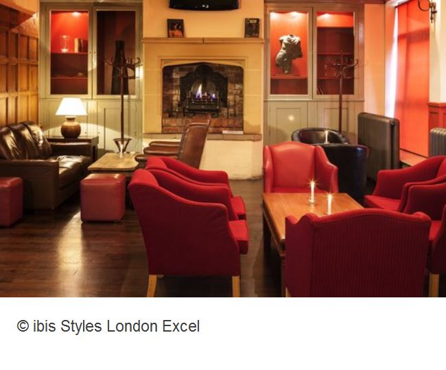 Ibis Styles London Excel Lounge