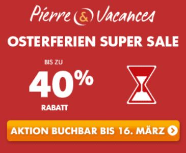 Pierre Vvacances Osterferien Super Sale