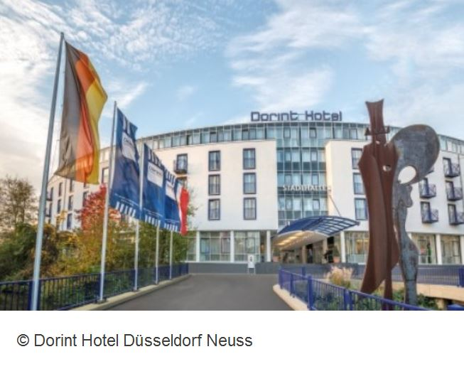 Dorint Hotel Duesseldorf Aussenansicht