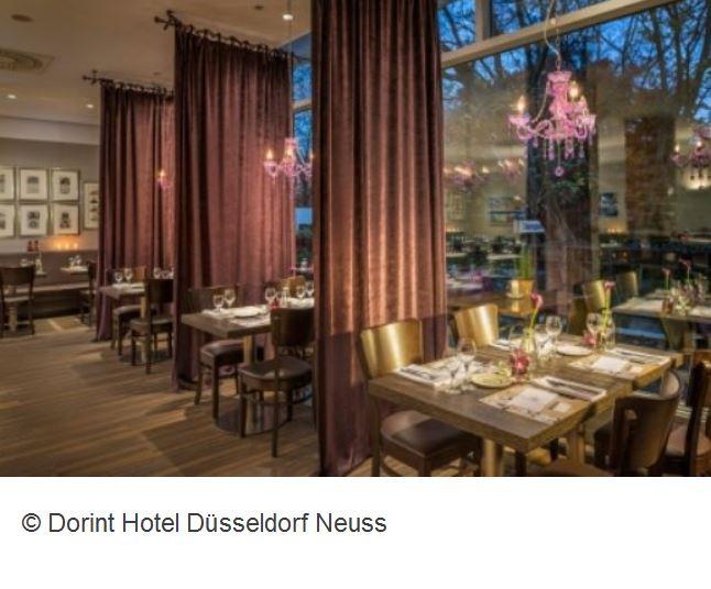 Dorint Hotel Duesseldorf Fruehstueck