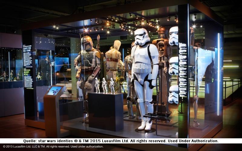 Sturmtruppe Star Wars Identities Ausstellung München
