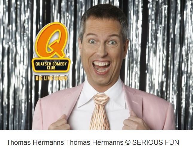 Komiker Thomas Hermanns im Quatsch Comedy Club