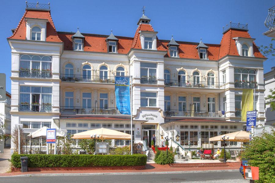 Seetelhotel Esplanade Usedom Aussen