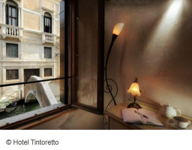Hotel Tintoretto Venedig Blick auf Kanal