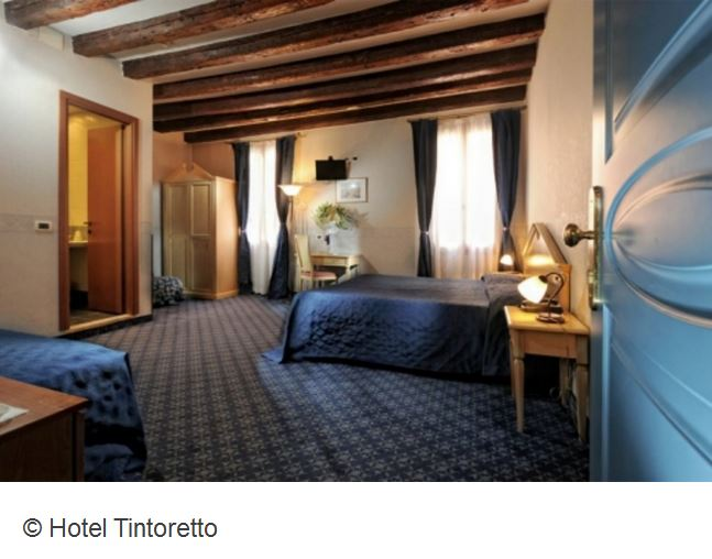Hotel Tintoretto Venedig Zimmer