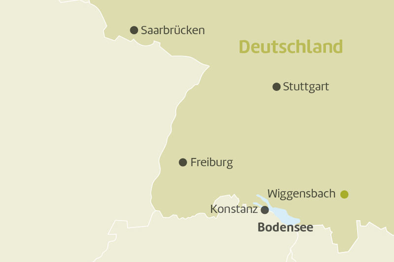 Karte Wiggensbach Allgäu