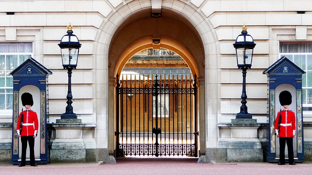 London Wachen Buckingham Palace