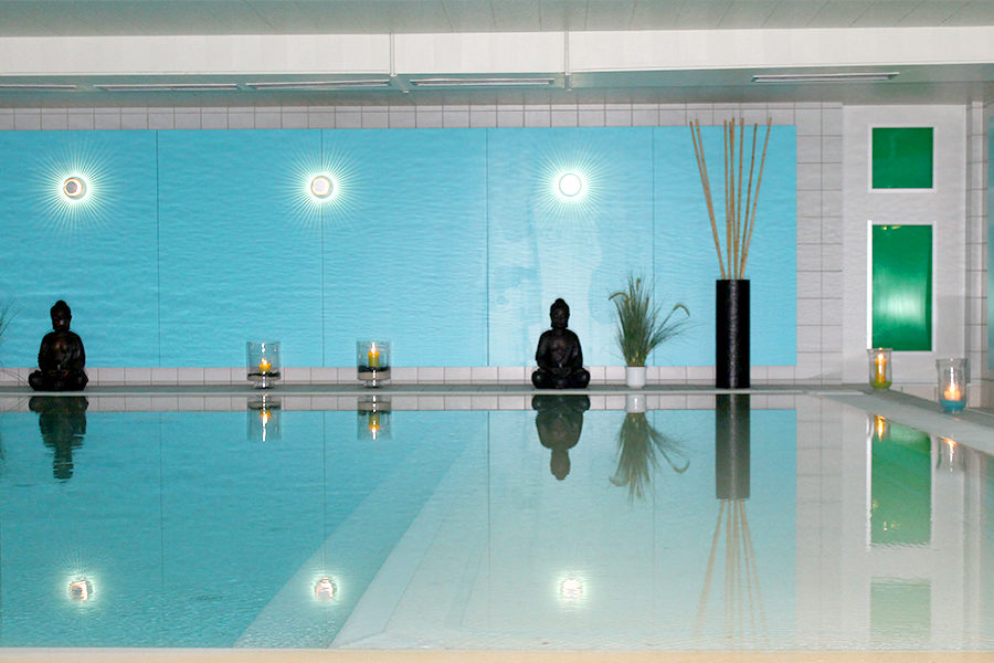 Aqualux Wellnesshotel Benessere Hallenbad