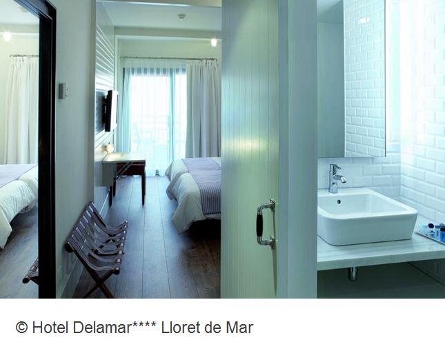 Hotel Delamar Lloret de Mar Doppelzimmer