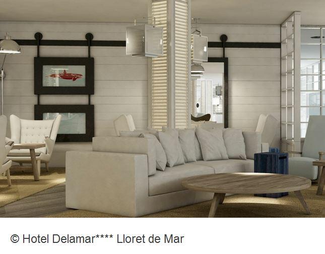 Hotel Delamar Lloret de Mar Lounge