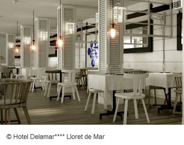 Hotel Delamar Lloret de Mar Restaurant