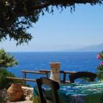 Griechenland Taverne Kreta Meer