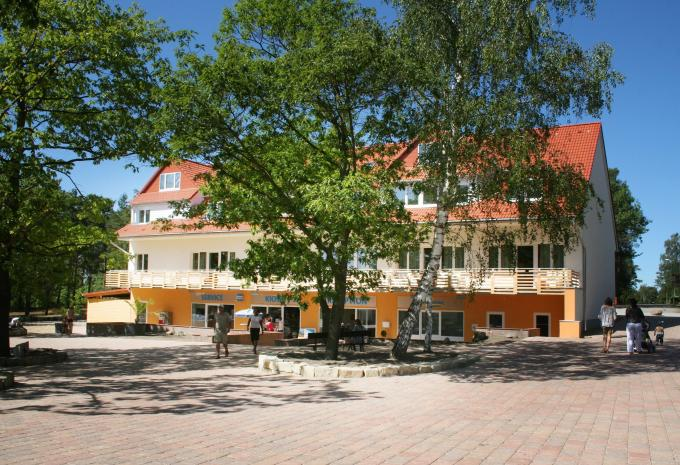 Hotel am Bernsteinsee Aussenansicht