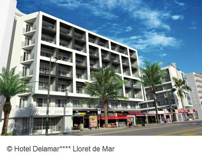 Hotel Delamar Lloret de Mar Aussenansicht